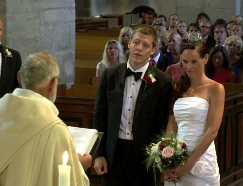 Bröllop Visby Domkyrka