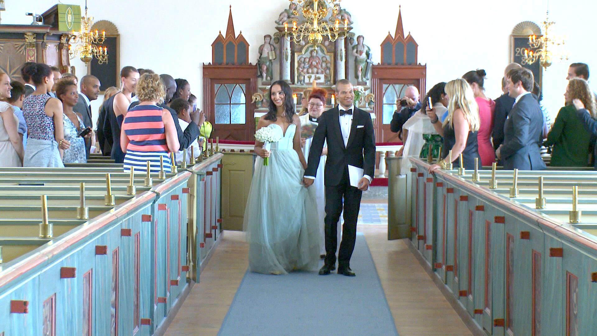 Bröllop Fårö Kyrka